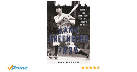 Hank Greenberg 1938 by Kaplan