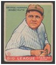 Ruth baseball card