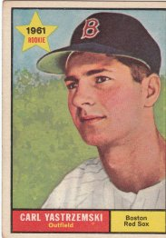 Yaz Rookie Baseball Card